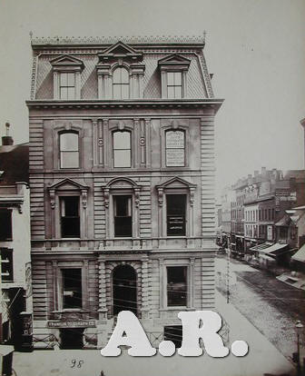 American architecture antique picture Albert Levy